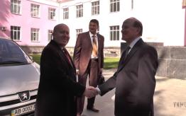 Дружественный визит делегации Египта