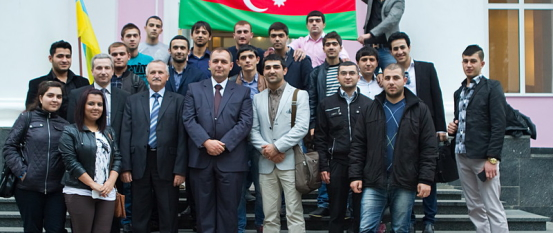Визит делегации Посольства Азербайджанской Республики в Украине
