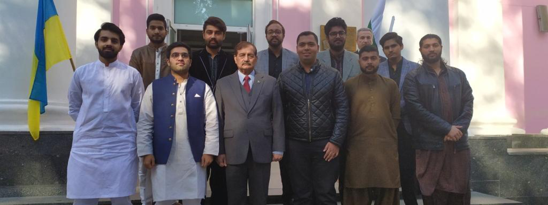 The Visit of Ambassador of Pakistan