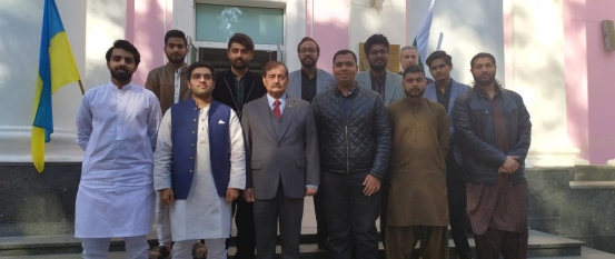 The Visit of Ambassador of Pakistan