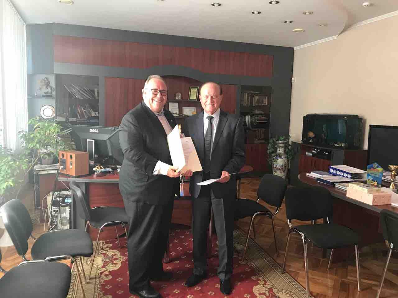 Cooperation with Turkish University